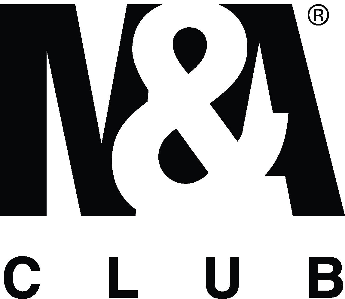 M&A Club logo black