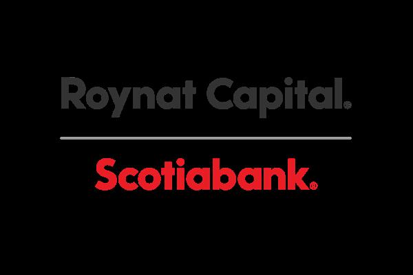 Roynat Scotiabank logo color