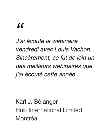 Karl J. Belanger - Testimonial - M&A Club